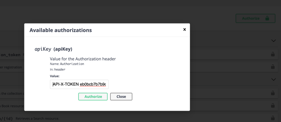 Authentication with VueJs using Symfony and Api Platform