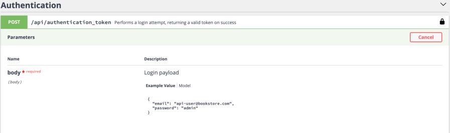 Authentication with VueJs using Symfony and Api Platform